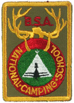 National Camping School Pocket Patch