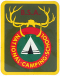 National Camping School Decal