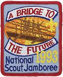 1993 National Jamboree Participant pocket patch