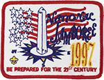 1997 National Jamboree Washington Monument