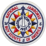 1937 National Jamboree Pocket Patch - BSA National Reproduction