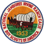 1953 National Jamboree Back Patch