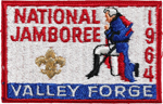 1964 National Jamboree Pocket Patch