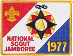1977 National Jamboree Backpatch