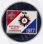 1977 National Jamboree Decal - Metal