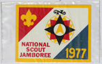 1977 National Jamboree Decal 2 pack