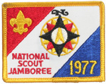 1977 National Jamboree Participant Pocket Patch