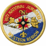 1977 National Jamboree Western Region Patch