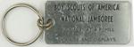 1981 National Jamboree Key Ring and Fob