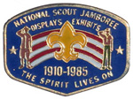 1985 National Jamboree Lapel Pin