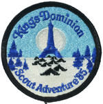 1985 National Jamboree Kings Dominion Scout Adventure