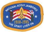 1985 National Jamboree Mini Patch
