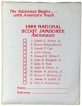 1989 National Jamboree Astronauts Card Game