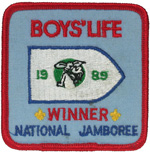 1989 National Jamboree Boy's Life Winner