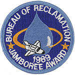 1989 National Jamboree Bureau of Reclamation Award