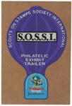 1989 National Jamboree S.O.S.S.I. Decal