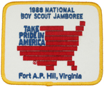 1989 National Jamboree Take Pride in America