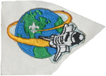 1989 National Jamboree Embroidered Sticker