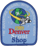 1989 National Jamboree Denver Scout Shop
