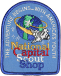 1989 National Jamboree National Capital Scout Shop