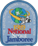 1989 National Jamboree Participant Patch