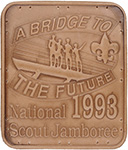 1993 National Jamboree Leather patch