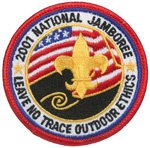 2001 National Jamboree Leave No Trace Outdoor Ethics