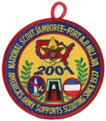 2001 National Jamboree America's Army