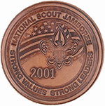 2001 National Jamboree Leather