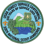 2005 National Jamboree USDA Forest Service Centennial