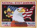 2005 National Jamboree Back Patch