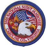 2005 National Jamboree Pocket Patch