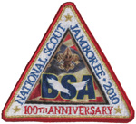 2010 National Jamboree Day Visitor Patch
