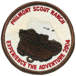 Philmont Experience the Adventure 2004