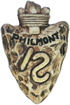 Philmont Ceramic Slide Arrowhead