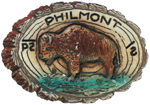 Philmont Ceramic Slide Buffalo
