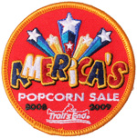 Trail's End America's Popcorn Sale 2008 2009