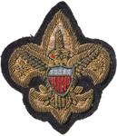 Professional Scout Blazer Bullion emblem