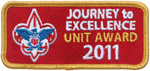Journey to Excellence Unit Award 2011