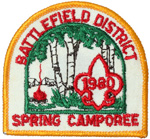 1980 Battlefield District Spring Camporee