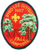 1967 Byrd-Lee District Fall Camporee