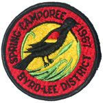 1967 Byrd-Lee District Spring Camporee
