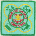 1969 Byrd-Lee District Spring Camporee