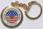 Robert E. Lee Council College of Commissioner Science Key Chain