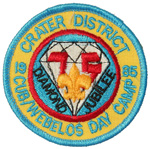 1985 Crater District Cub/Weblos Day Camp