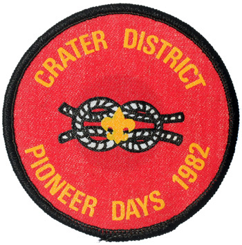1982 Crater District Pioneer Days