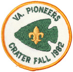 1982 Crater District Fall VA. Pioneer