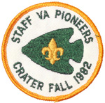 1982 Crater District Fall VA. Pioneer Staff
