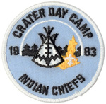 1983 Crater Day Camp Indian Chiefs