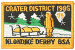 1985 Crater District Klondike Derby